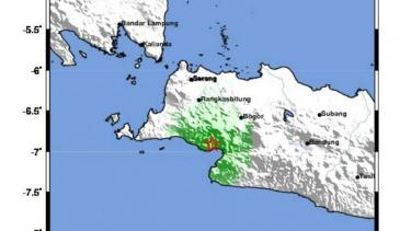 Gempa di Lebak, Banten. (Ilustrasi)