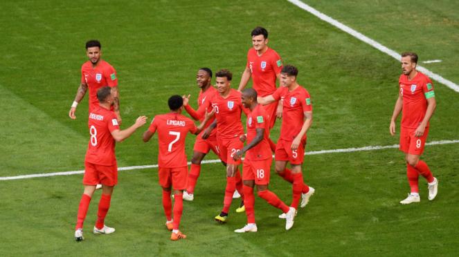 Inggris melaju ke semifinal Piala Dunia 2018.