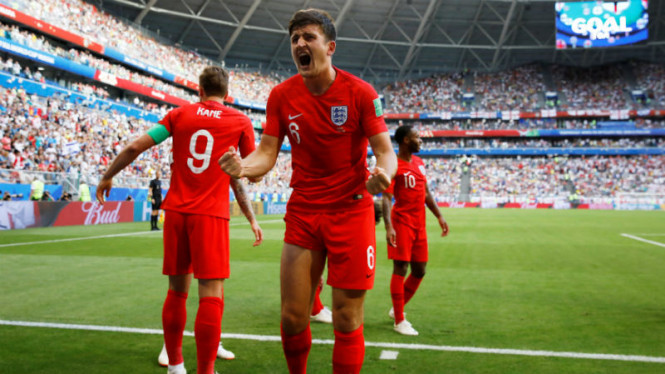 Bek Inggris dan Leicester City, Harry Maguire.