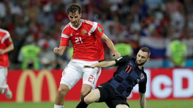 Laga Rusia vs Kroasia