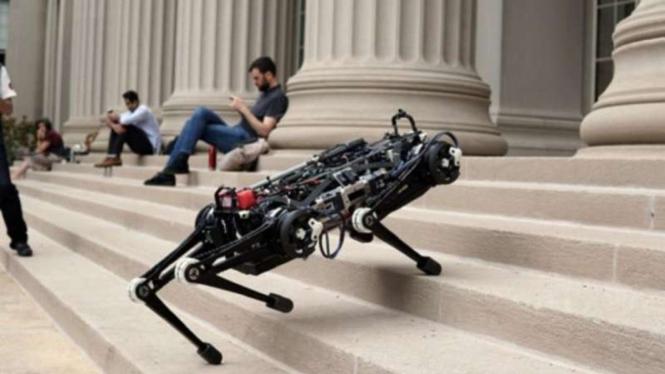 Robot penjelajah bernama cheetah.
