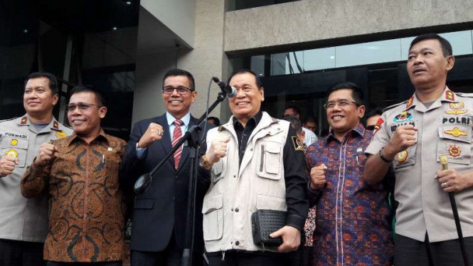 Kunjungan Komisi III DPR RI ke Polda Metro Jaya