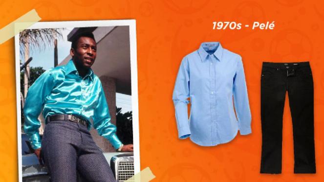 Gaya fesyen 1970an (Pele)