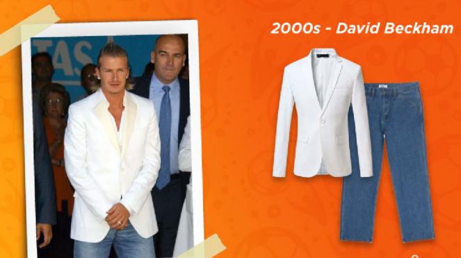 Gaya fesyen 2000an (David Beckham)