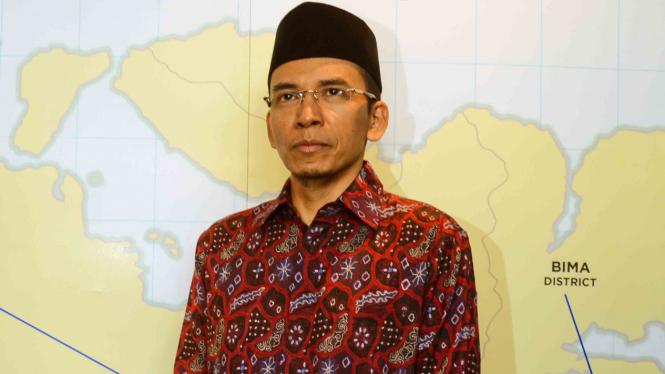 Gubernur NTB, TGB M Zainul Majdi