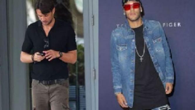 Paolo Maldini dan Neymar