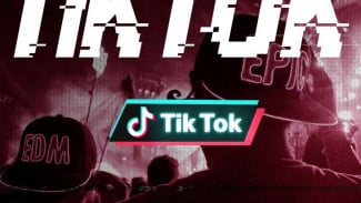 Aplikasi TikTok, salah satu anak usaha Bytedance Technology.