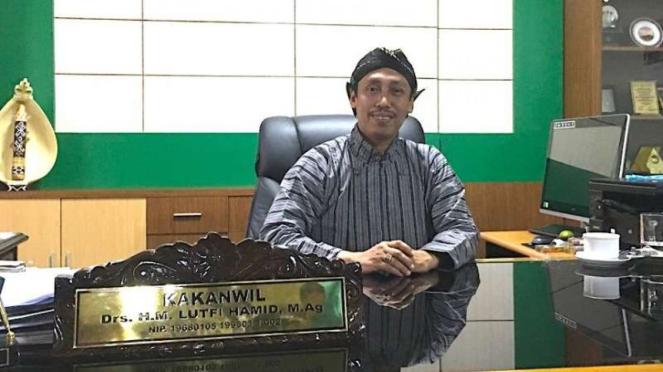 Kakanwil Kemenag DIY Muhammad Lutfi Hamid