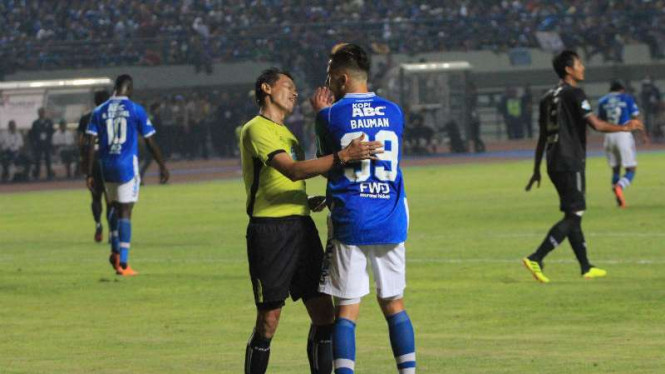 Striker Persib Bandung, Jonathan Bauman.