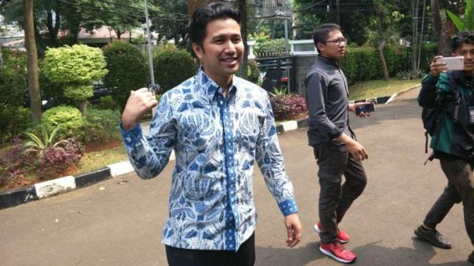 Emil Dardak di kawasan Widya Chandra, Jakarta Selatan, Kamis, 12 Juli 2018.