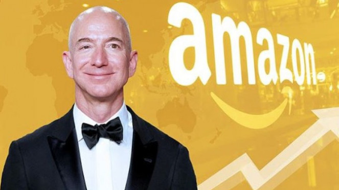 CEO Amazon, Jeff Bezos.