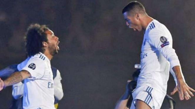 Marcelo dan Cristiano Ronaldo.