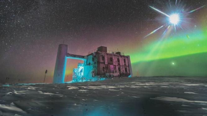 Laboratorium IceCube Neutrino