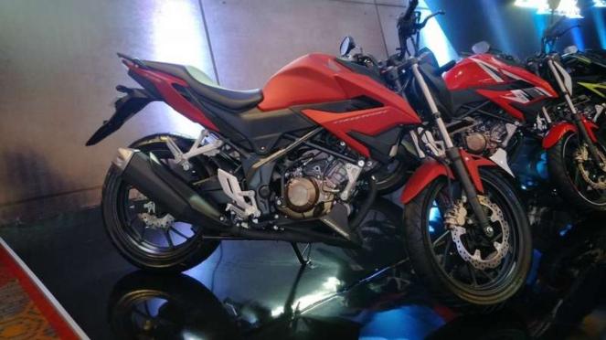 Honda CB150R StreetFire terbaru.