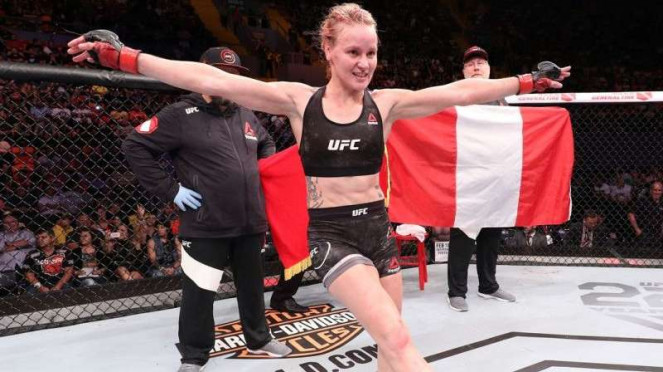 Petarung UFC, Valentina Shevchenko.