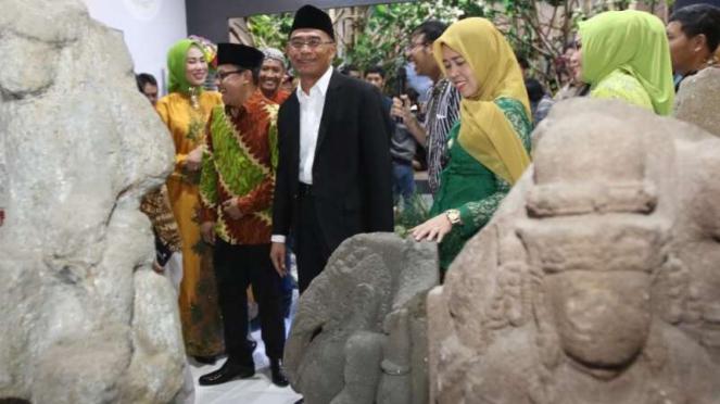 Mendikbud Muhadjir Effendy meresmikan Museum  Mpu Purwa di Malang