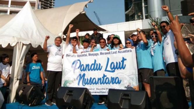 Kampanye gerakan cinta laut Indonesia