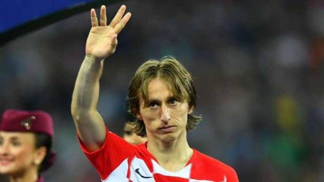 Kapten Kroasia, Luka Modric
