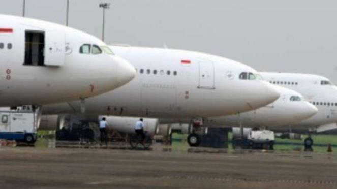 Pesawat siap berangkatkan jemaah haji