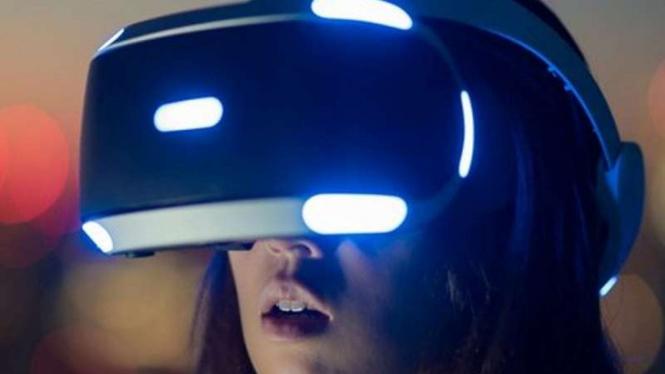 Ilustrasi virtual reality