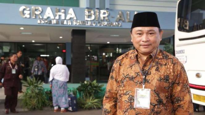 Direktur Pelayanan Haji Dalam Negeri Muhajirin Yanis