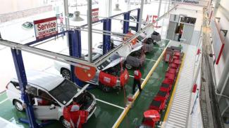 Bengkel servis Mitsubishi