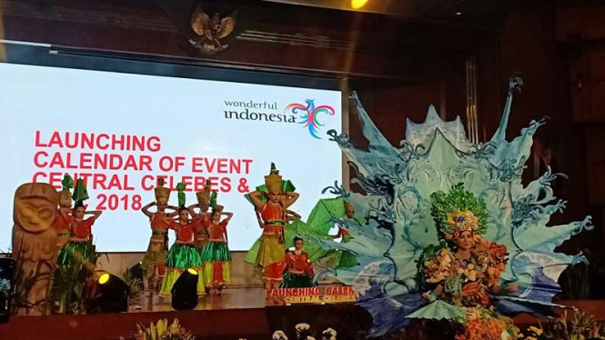 Launching Calender of Event Sulawesi Tengah 2018