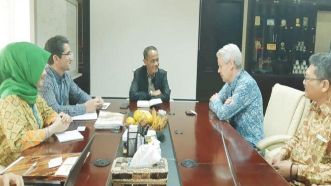 BKP Kementan Bahas Masalah Pangan dan Gizi Bersama FAO dan WFP