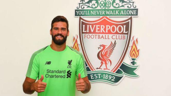 Kiper anyar Liverpool, Alisson Becker