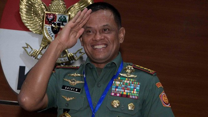 Jenderal (Purn) Gatot Nurmantyo ketika masih bertugas menjadi Panglima TNI beberapa waktu silam (Foto ilustrasi)
