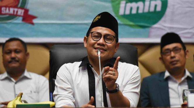 Ketua Umum PKB sekaligus Wakil Ketua MPR Muhaimin Iskandar