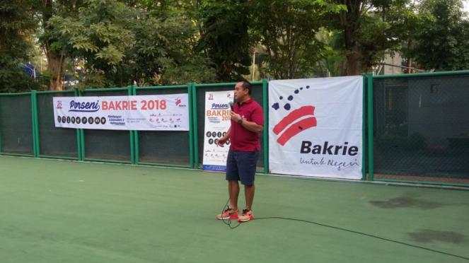 Ketua Komite Olahraga dan Seni Budaya Grup Bakrie, Anindra Ardiansyah Bakrie.