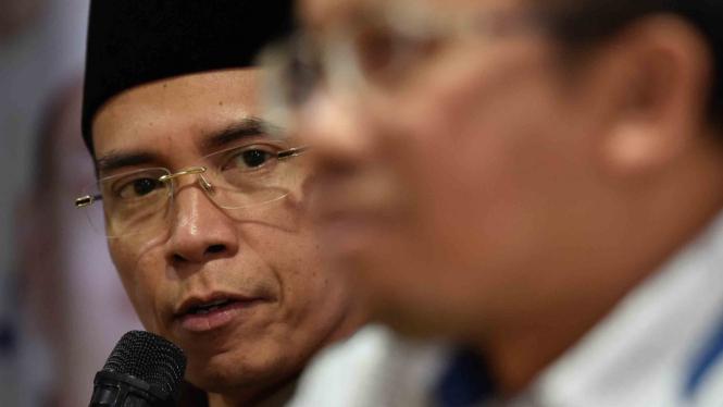 Mantan gubernur Nusa Tenggara Barat Tuan Guru Bajang Muhammad Zainul Madji