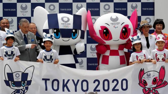 TokyoPerkenalkan Maskot Olimpiade dan Paralimpik 2020