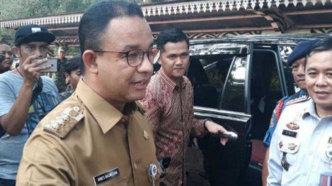 Gubernur DKI Jakarta Anies Baswedan di Jakarta, Selasa, 24 Juli 2018.
