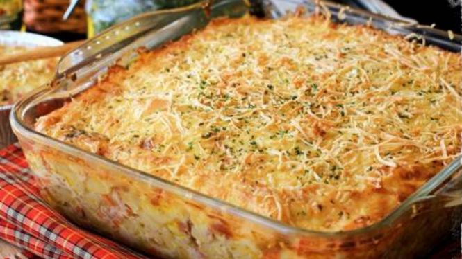 Resep Tergoda Lezatnya Macaroni Schotel Dijamin Super Cheesy