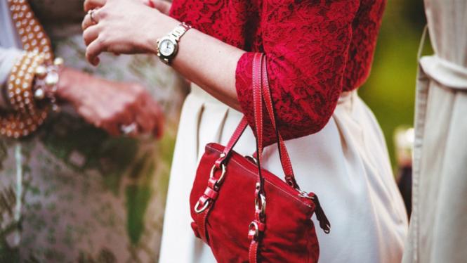Ilustrasi tas/fesyen.