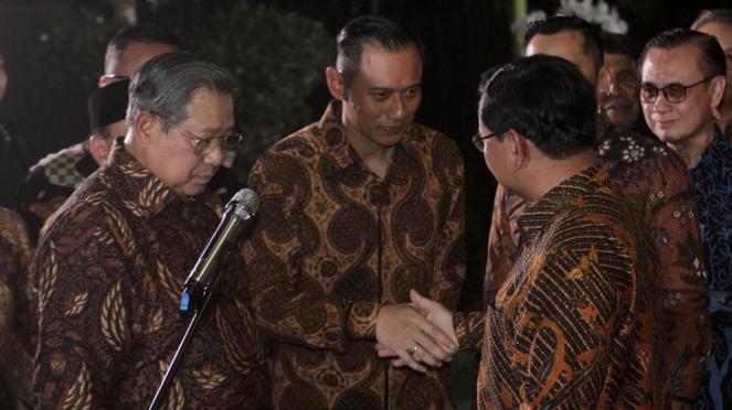 Pertemuan SBY-Prabowo Subianto, Agus Harimurti Yudhoyono (AHY).