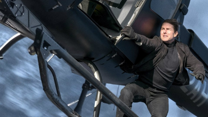 Tom Cruise di film Mission Impossible Fallout