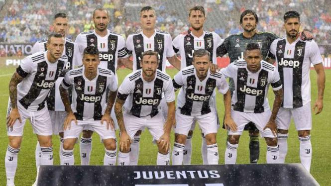Para pemain Juventus.