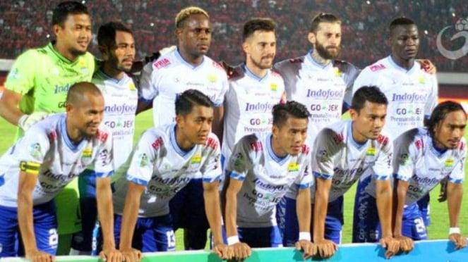 Skuat Persib Bandung di Liga 1 2018