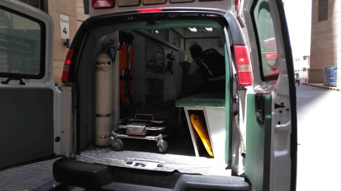 Belasan ambulans disiagakan untuk jemput jemaah haji yang sakit