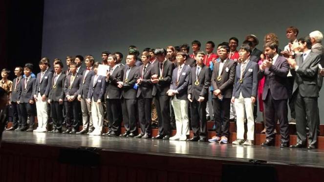 Pelajar Indonesia menang di Olimpiade Fisika Internasional di Portugal 2018