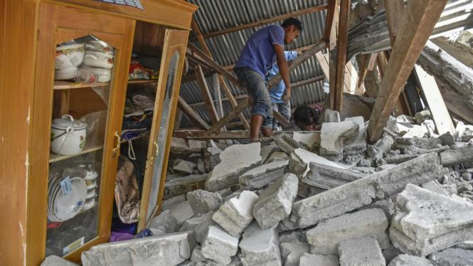 Soal Gempa Lombok Bmkg Minta Warga Tak Mudah Terpancing Isu Viva