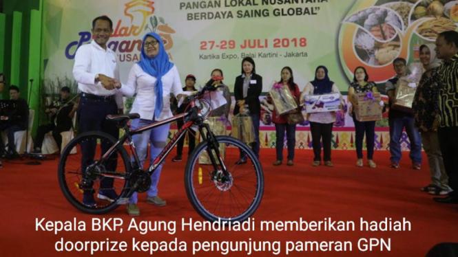 Gelar Pangan Nusantara (GPN) 2018 27-29 Juli 2018 di Balai Kartini
