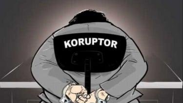 Ilustrasi koruptor.
