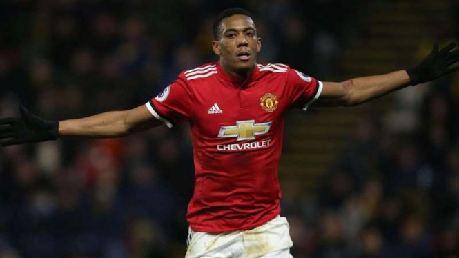Winger Manchester United, Anthony Martial