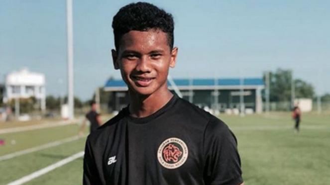 Pemain Malaysia U-16, Amirul Ashrafiq Hanifah