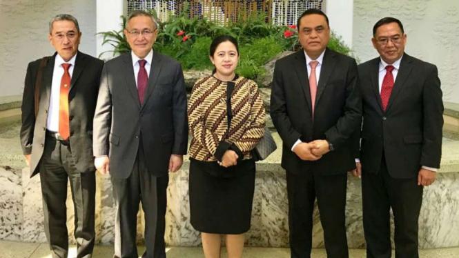 Menko PMK Puan Maharani diterima pemerintah Korea Utara