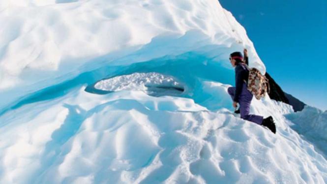 Wisata salju di New Zealand